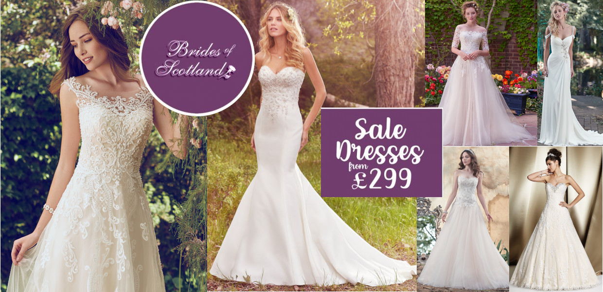 wedding dresses for sale glasgow