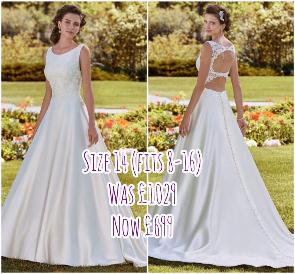 Sample sale, 20 off wedding dresses   Brides of Scotland